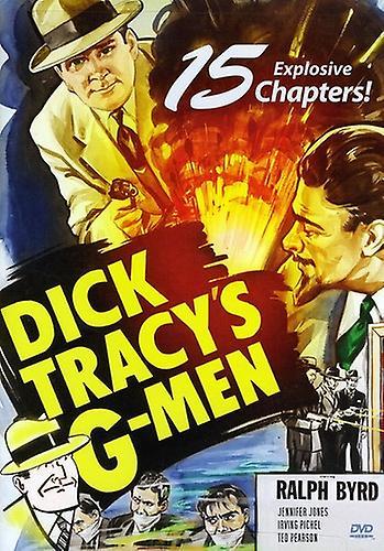 Dick Traceys G-Men [DVD] USA import
