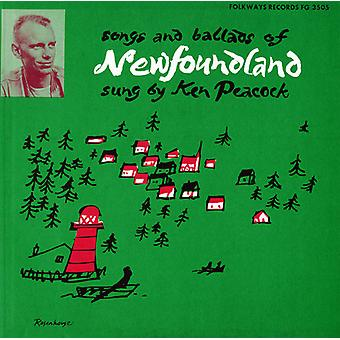 Kenneth Peacock - Songs & Ballads of Newfoundland [CD] USA import