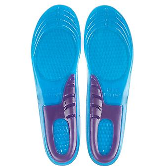 TRIXES Medium Gel Insoles for Comfort and Shock Absorption Sports & Walking Support with Extra Arch Support