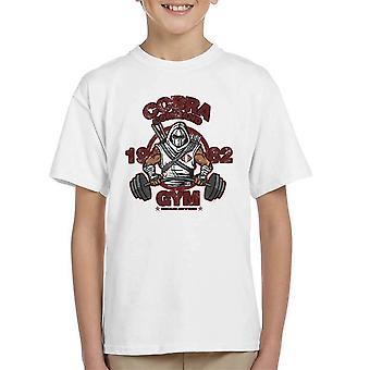 Cobra Command Gym GI Joe Storm Shadow Kid's T-Shirt