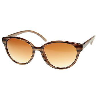 Vintage Inspired Round Circle Horned Rim P-3 Horn Rimmed Fashion Sunglasses