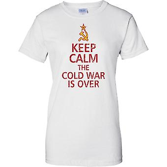Keep Calm The Cold War Is Over - Ladies T Shirt