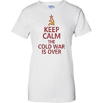 Hålla lugn det kalla kriget är över - damer T Shirt