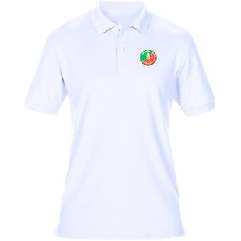Französisch ausländische Legio L_gion Trang re gestickte Logo - Herren-Polo-Shirt