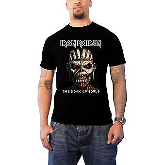 Iron Maiden T Shirt Book of Souls Band Logo Album Cover Official Mens New Black
