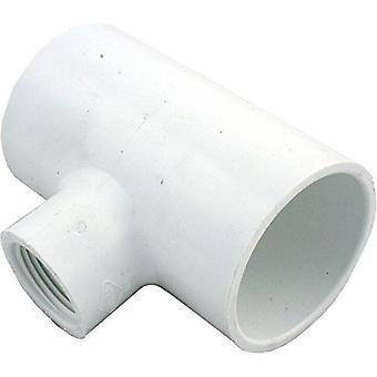 "Lasco 402-249 1""Slip x 2""FPT Pool & Spa Reducer Tee Fitting"