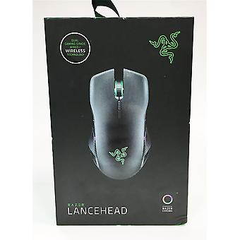Razer Lancehead Ambidextrous Wireless Gaming Mouse (Gaming-Grade Wireless Performance, Most Precise 16,000 DPI 5G Sensor, Mechanical Mouse Switches, Chroma RGB Lighting)