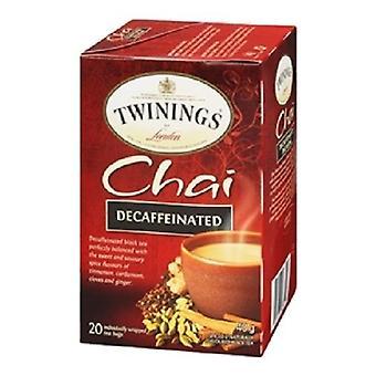 Twinings van Londen Chai cafeïnevrije thee 2 vak Pack