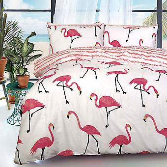 Pieridae Flamingo Duvet Cover Quilt Cover Bedding Set