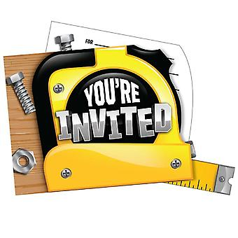 Home improvement of DIY fans invitations 8 piece children birthday theme party party birthday