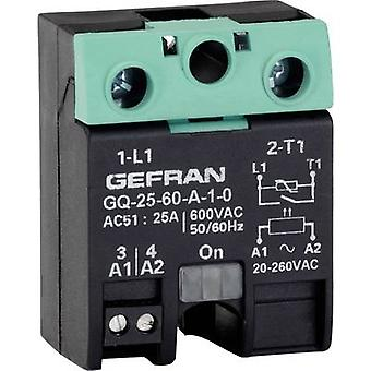 Gefran SSR GQ-25-60-D-1-3 Current load (max.): 25 A Switching voltage (max.): 600 V AC Zero crossing 1 pc(s)