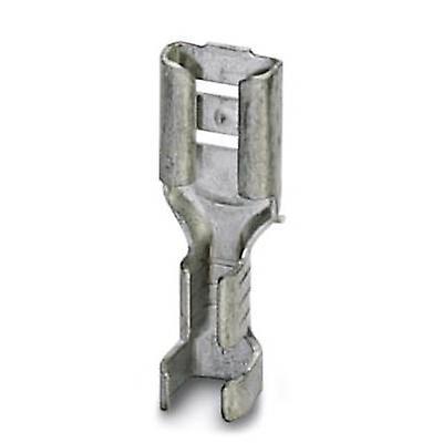 Receptáculo de Phoenix Contact 3240154 lâmina largura do conector: 4.8 mm espessura do conector: 0.5 mm 180 ° não isolada o Metal 100 PC (s)