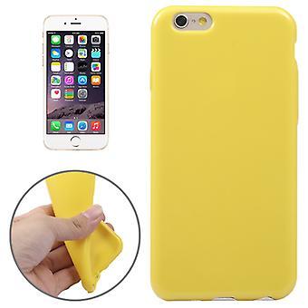 Apple iPhone 6 telefon tilfelle TPU gul