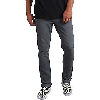 Volcom Vorta Denim Slim Fit Jeans in Grey Vintage