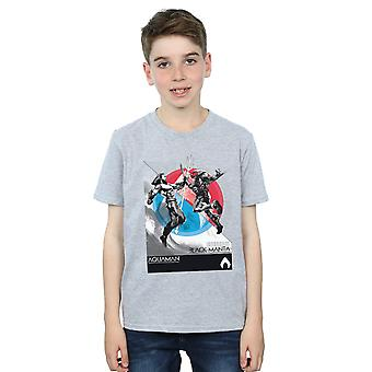 DC Comics Boys Aquaman Vs Black Manta T-Shirt