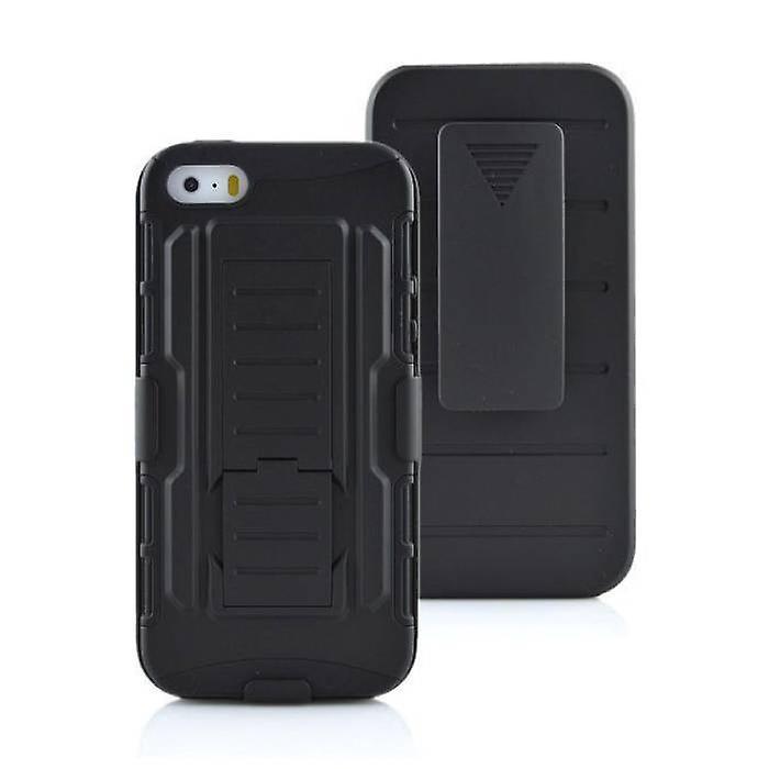 Stuff Certified® iPhone 8 Future Armor Hard Case Cover Cas Case Black