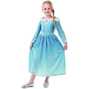 ELSA frosne OLAF BB´s eventyr klassiske Disney kinder kostume kjole piger Carnival prinsesse fe ice Queen