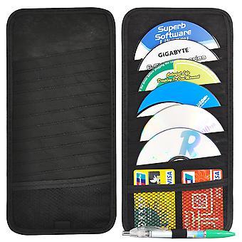 TRIXES 12 disco porta CD per il parasole auto