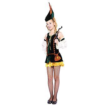 Bnov jæger pige kostume