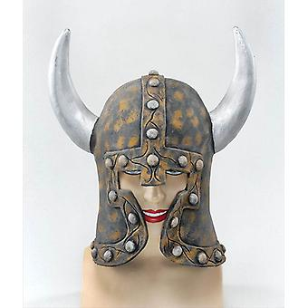 Warrior Style Helmet & Horns.