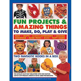 Fun Projects & Amazing Things to Make - Do - Play & Give - Two Fantast