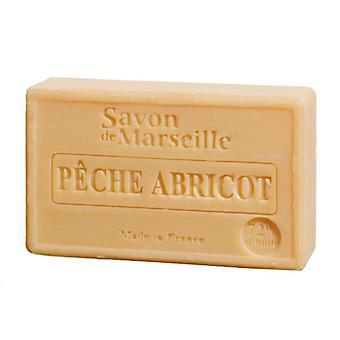 Savon de Marseille Le Chaterlard - Pfirsich Aprikose - fruchtig zarter Duft für ein samtweiches Hautgefühl 100 g