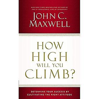 Wie hoch werden Sie klettern?: bestimmen Sie Ihren Erfolg durch den Anbau der richtigen Einstellung