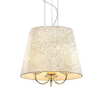 Ideal Lux - colgante Reina oro acabado con cristal decoración IDL079400