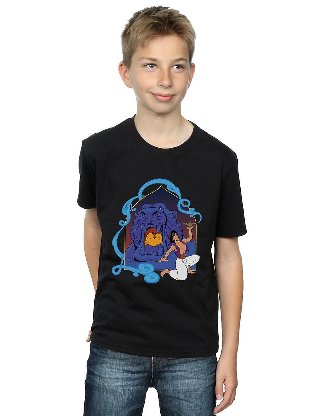 Disney Boys Aladdin Cave Of Wonders T-Shirt