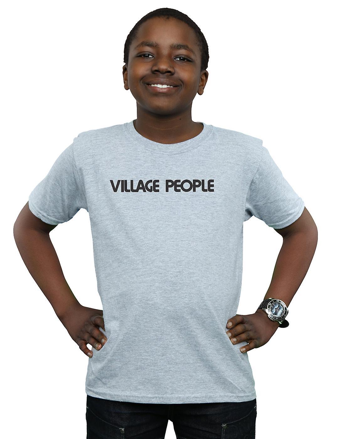 Village People Boys Text Logo T-Shirt