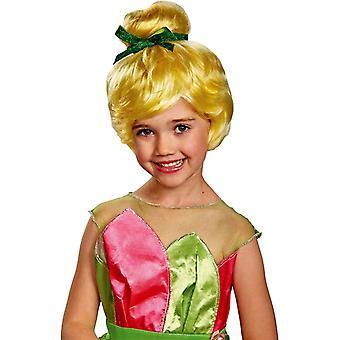 Tinker Bell pruik voor kinderen