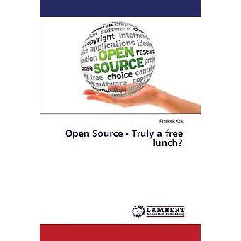 Abrir fuente verdaderamente un almuerzo gratis por Kok Frederik