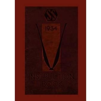 INSTRUCTION BOOK OF SSCARS JAGUAR by Cars Ltd & Jaguar