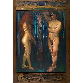 Stoffwechsel, Edvard Munch, 60x42cm