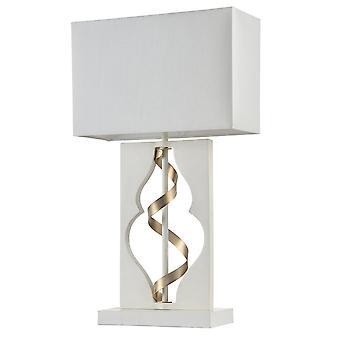 Maytoni belysning Intreccio Elegant bordslampa, vit