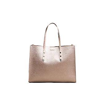 Twin-set 191ta724000270 Women's Pink Faux Leather Tote