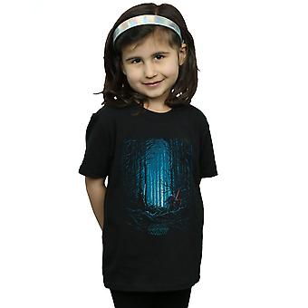 Star Wars The Force Awakens Girls Kylo ja Finn Art juliste T-paita
