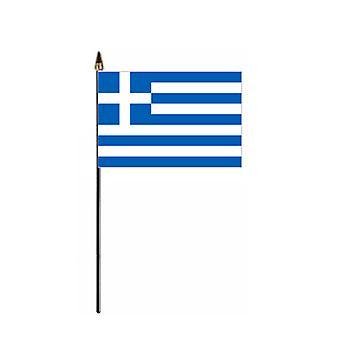 Kreikka Hand Held lippu