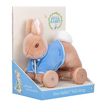 Beatrix Potter Pull Along Toy Peter Rabbit
