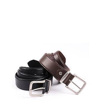 """Pegasus Chums 1.5"""" Mens Plain Leather Jean Belt"""