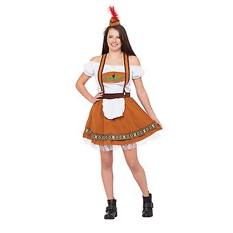 Bristol Novelty Womens/Ladies Country Bar Girl Costume