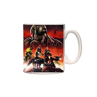 Mug Marvel Avengers Movie Superhero Coffee Mug Licensed cmg-aum2-avng9