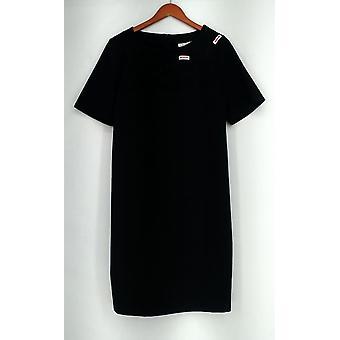 Joan Rivers Classics Coll. Dress Classic Little Black Dress Black A299437