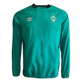 2019-2020 Werder Bremen Umbro Drill Top (Green)