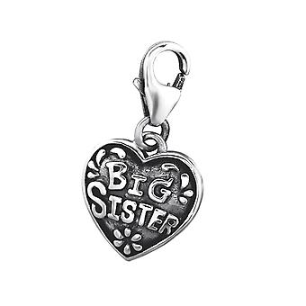 Big Sister - 925 Sterling Silver Charms With Lobster - W29520x