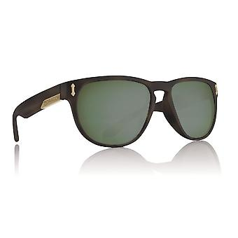 Dragon Marquis Polarized Sunglasss Matte Tortoise with Green