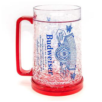 Budweiser Freezer Beer Stein 16 Ounces