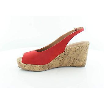Stil & co kvinners Sondire Peep Toe Casual Slingback sandaler