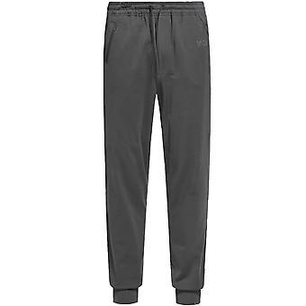 Y-3 Classic Logo Cuff Pants Carbon Grey