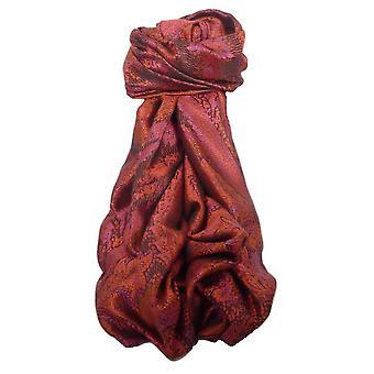 Mens Jamawar Premium Silk Scarf Pattern 6559 by Pashmina & Silk